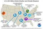 Billion-Dollar Weather and Climate Disasters: Overview
