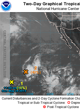 Eastern Pacific Tropical Weather Outlook