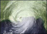 Hurricane Katrina - Credit NASA